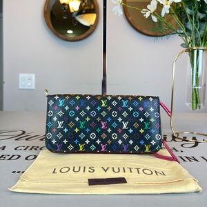 Louis Vuitton Monogram Multicolored Wallet Purse